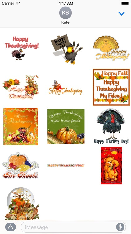 Animated Thanksgiving Day