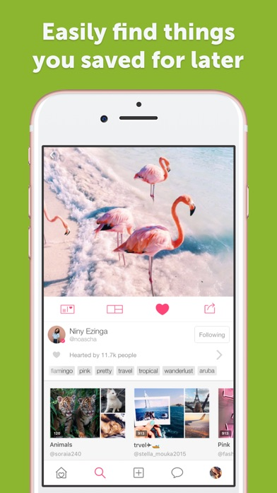 We Heart It - Fashion, quotes Screenshot on iOS