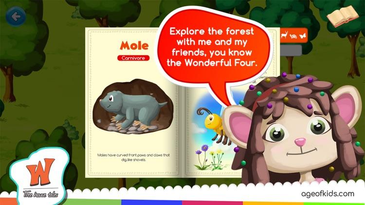 Animals Forest Wonderwood screenshot-4