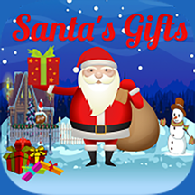 Santa Claus collecting gifts