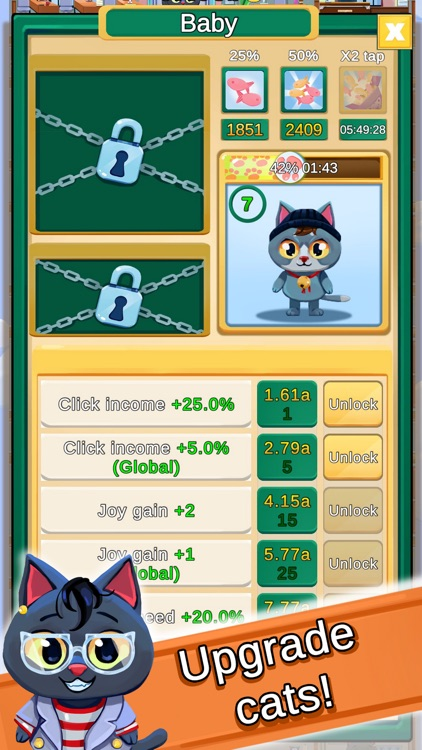 Cat Tower: Idle builder!