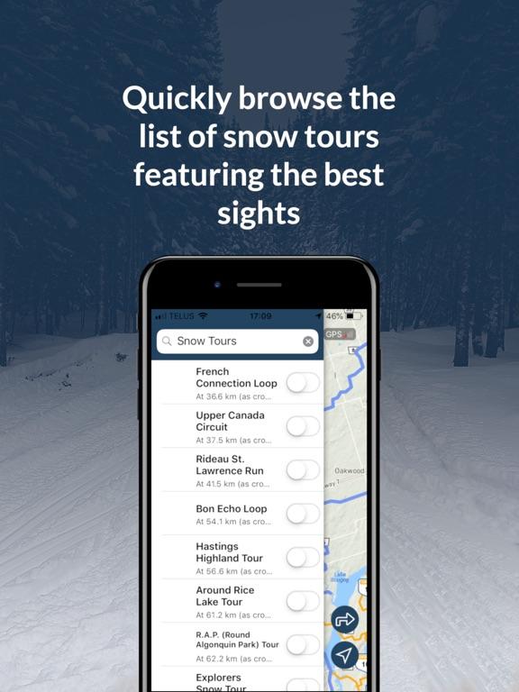 Go Snowmobiling Ontario 2018! screenshot 10