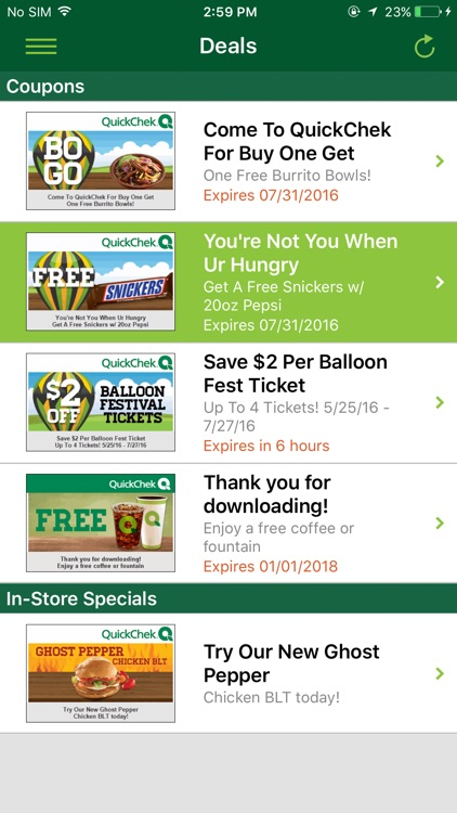 QuickChek Deals screenshot-3