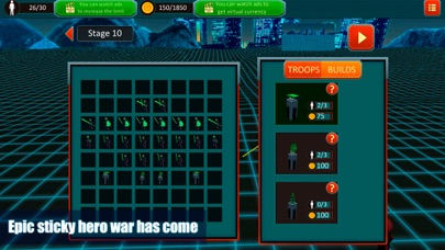 Sticky Man Epic Battle Fighter screenshot one