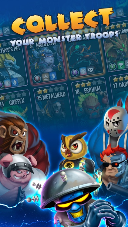 Monster Legends RPG - War, Fight & Heroes Game