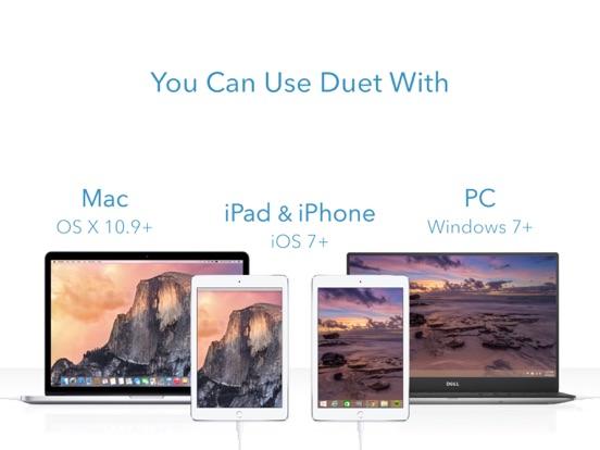 Duet Display Screenshots