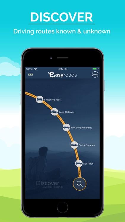 EasyRoads - Road Trip Planner