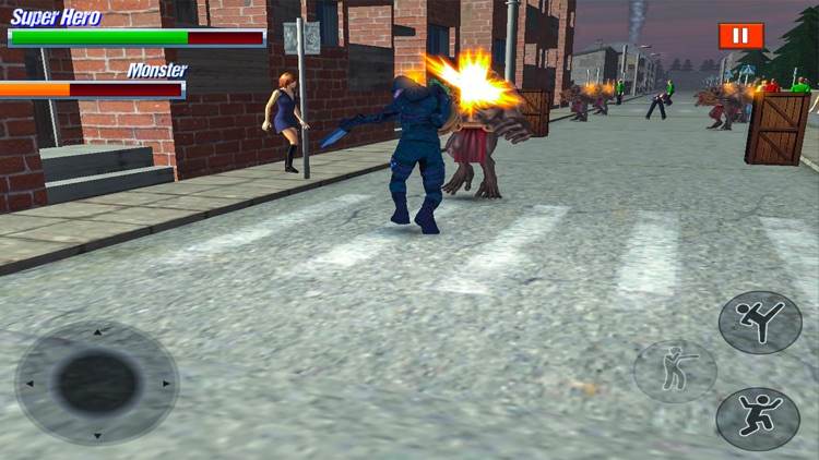Super Hero Fight in City screenshot-3