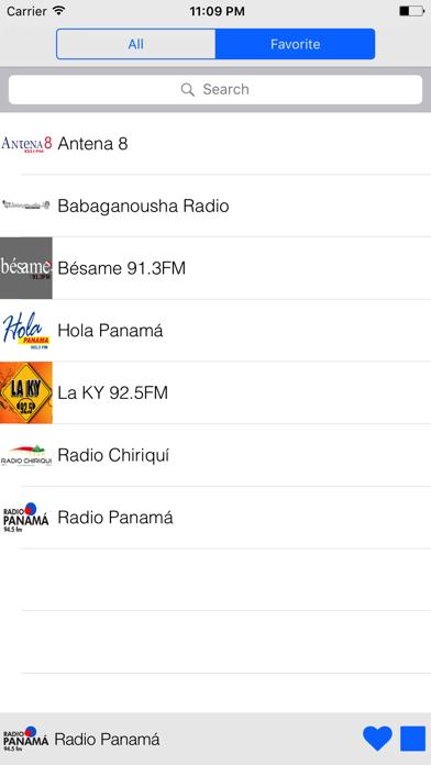 Panama Radio screenshot two