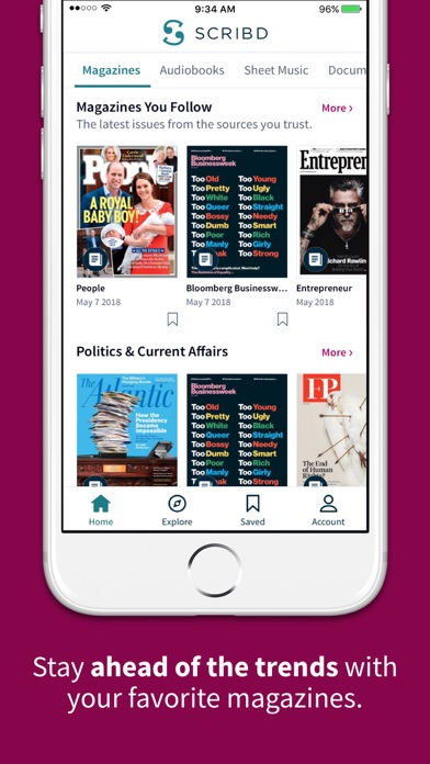 Scribd Competitors, Reviews, Marketing Contacts, Traffic