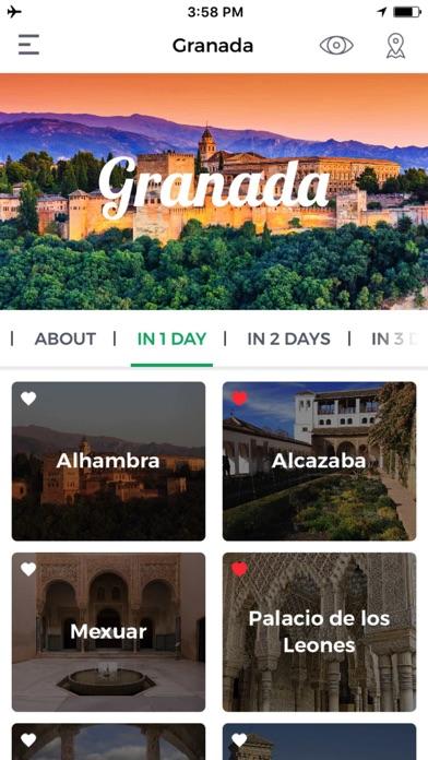 Granada Travel Guide Offline screenshot one