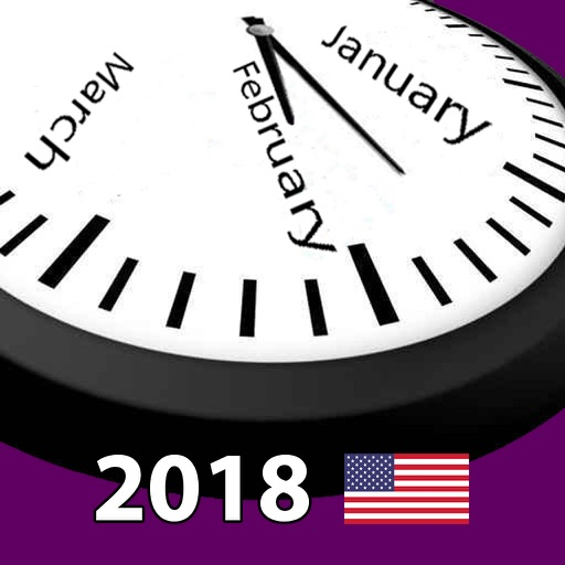 2018 US Holiday Calendar