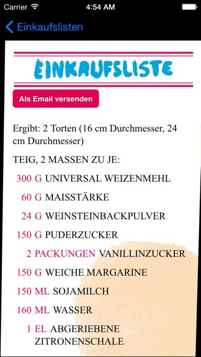 Screenshot for Vegan Backen in Germany App Store