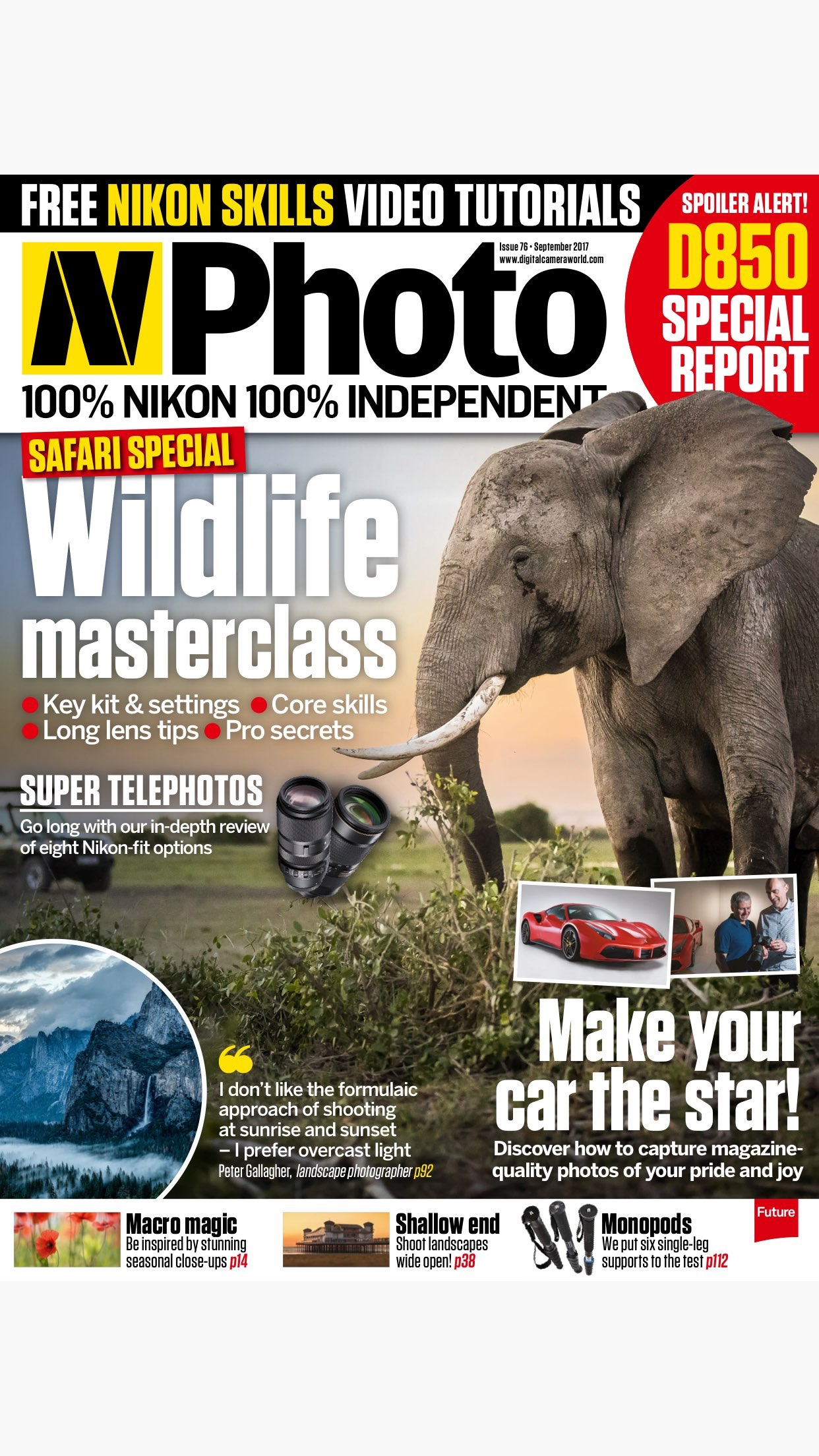 N-Photo: the Nikon photography magazine Screenshot