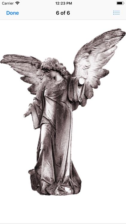 Angel Statue Stickers screenshot-6