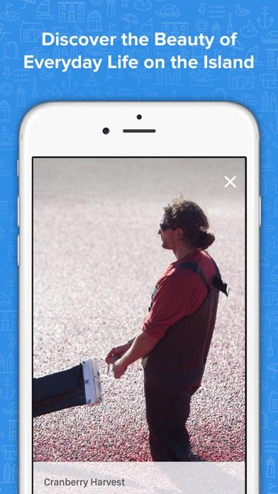 Screenshot of trACK: Nantucket Tours App