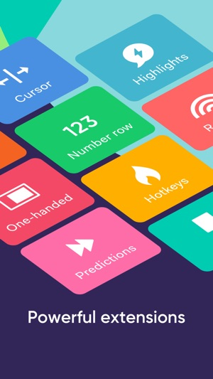 Fleksy- GIF, Web & Yelp Search Screenshot