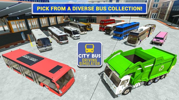 City Bus Driving Sim screenshot-4