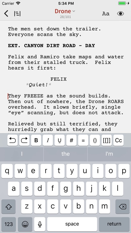 Slugline: Simply Screenwriting screenshot-0