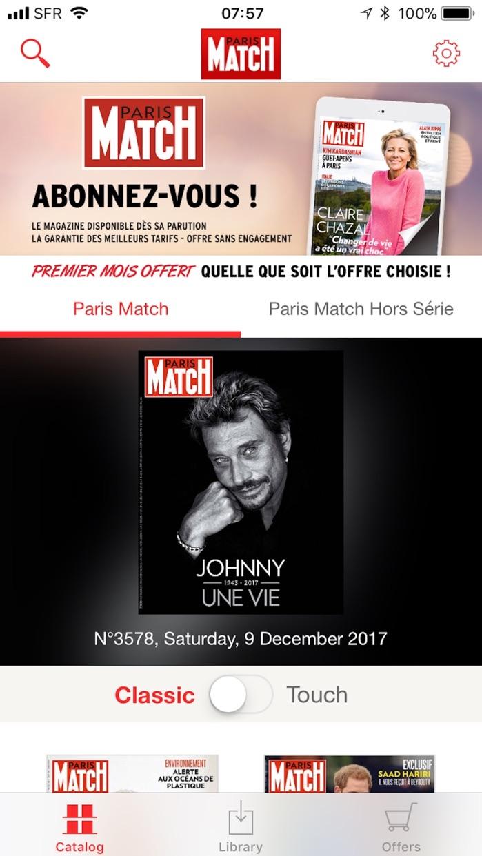 PARIS MATCH Screenshot