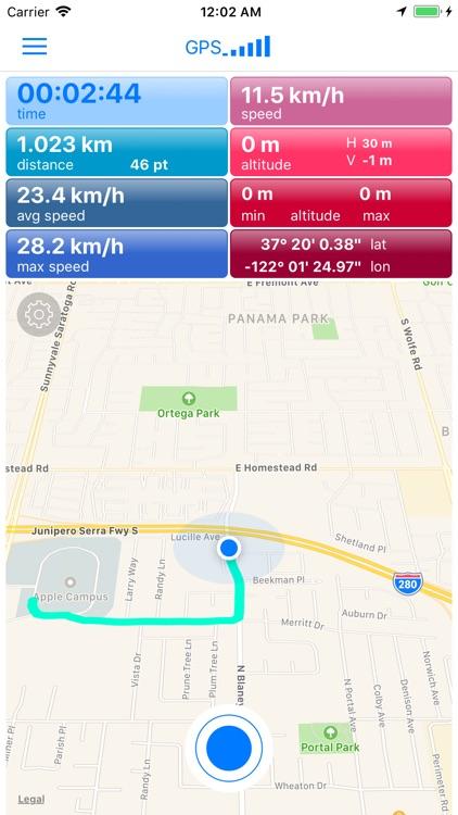 Trackyzer: Cycling & Running