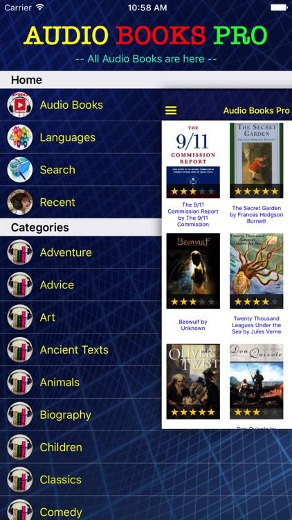 Audio Books - Books of Royal PRO