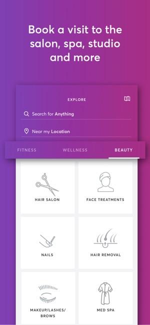 Mindbody Fitness Salon Spa On The App Store