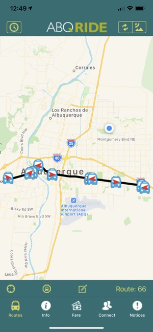 ABQ RIDE on the App Store