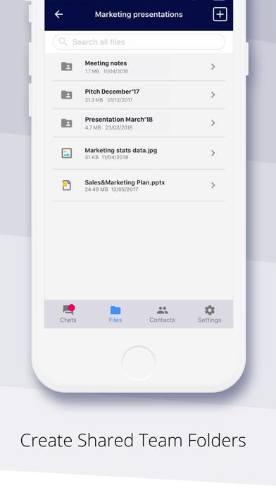 Peerio screenshot four