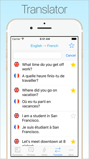 French dictionary translator on the app store solutioingenieria Images