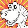 Color Mix n' Paint (Dinosaur)