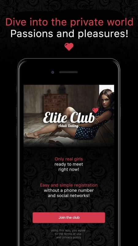 application elite dating