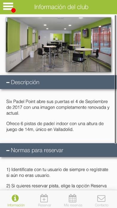 Six Padel Point Padel6 screenshot 1
