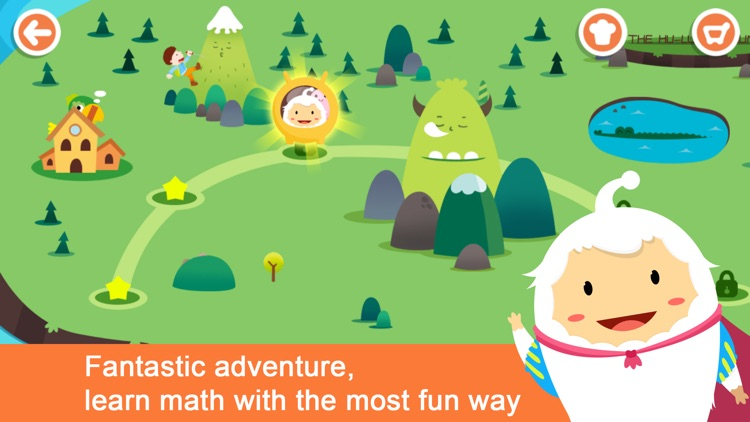 Math Kingdom-A Math Learning Trip with Miya, Mina screenshot-0