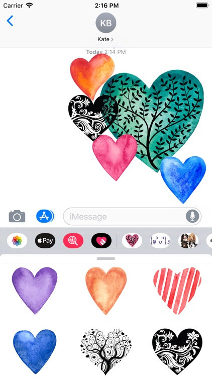 Heart Sticker Collection
