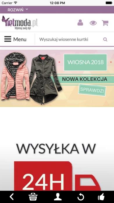 netmoda.pl - wykreuj swój styl screenshot one