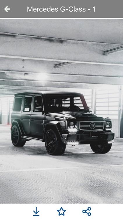 HD Car Wallpapers - Mercedes G Series Edition screenshot-4