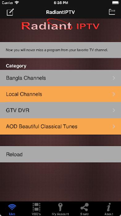 Tải về RadiantIPTV cho Pc