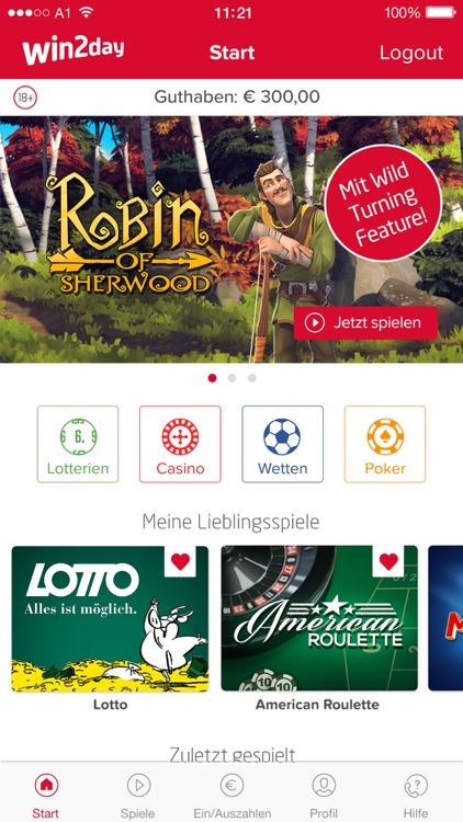 win2day – Casino, Lotto, Wetten screenshot-0