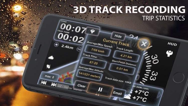 aSmart HUD 3D +SpeedCams