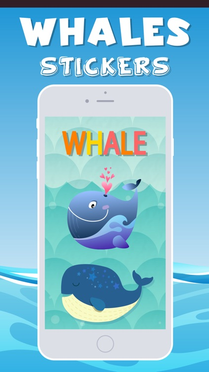 Whales Emojis screenshot-0