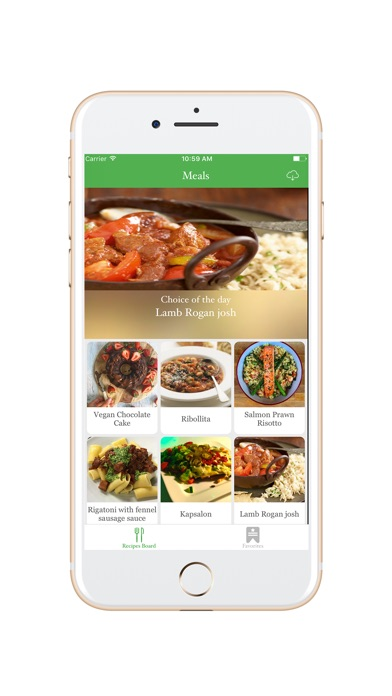 Screenshot #5 for Easy Meal Recipes Menu Planner