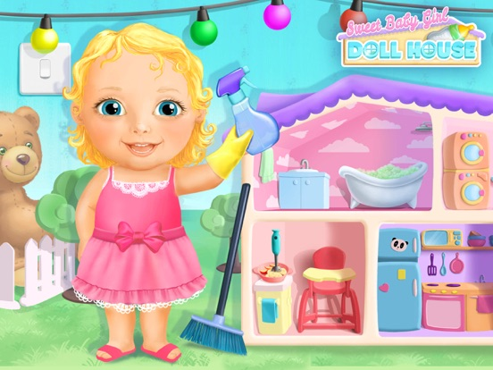 Sweet Baby Girl Dollhouse FULL screenshot 6