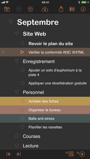 Omnioutliner 3 Dans L App Store