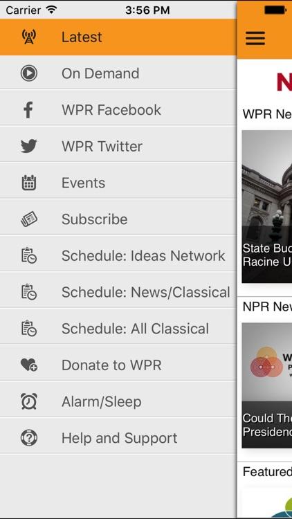 Wisconsin Public App for iPad