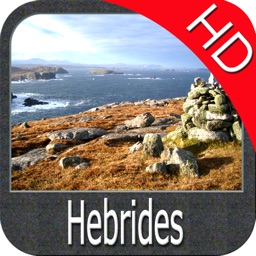 Marine : Hebrides HD - GPS Map Navigator
