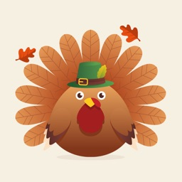 Greatful Thanksgiving Stickers