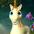 Talking Unicorn Game icon