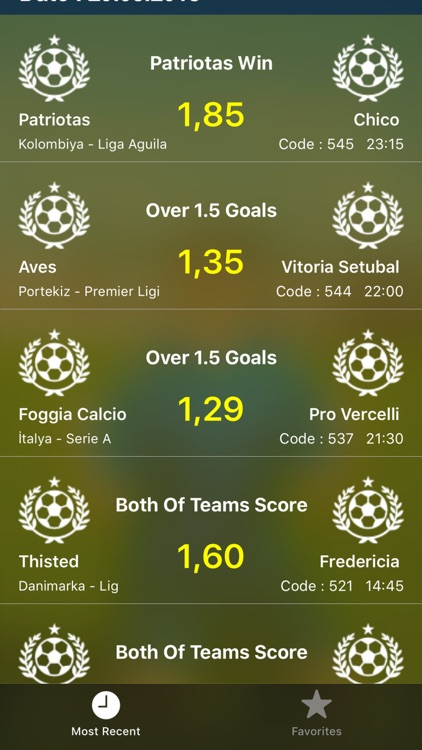 Betting Tips Vip - Daily Tips screenshot-3