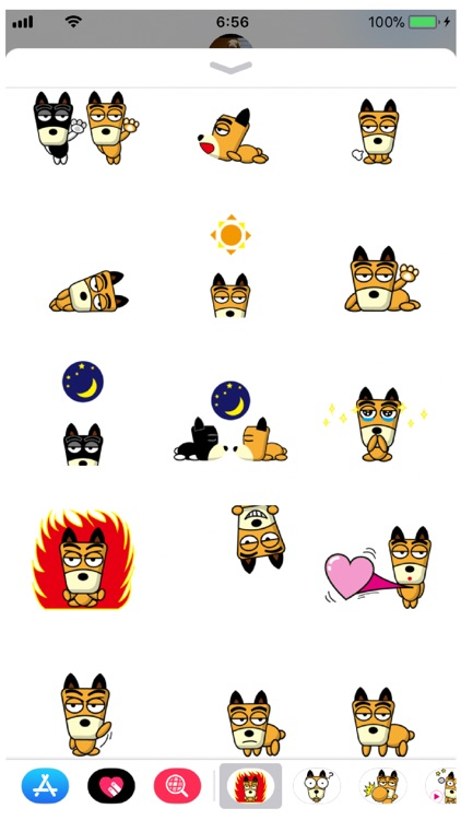 TF-Dog 3 Stickers screenshot-1